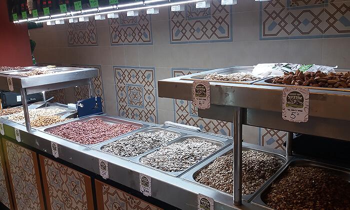 4 שובר הנחה לרכישת פיצוחים קלויים אצל יוסי חממה אורגינל, תל אביב