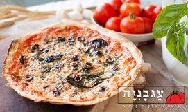 1+1 בפיצה עגבניה במרכז חורב