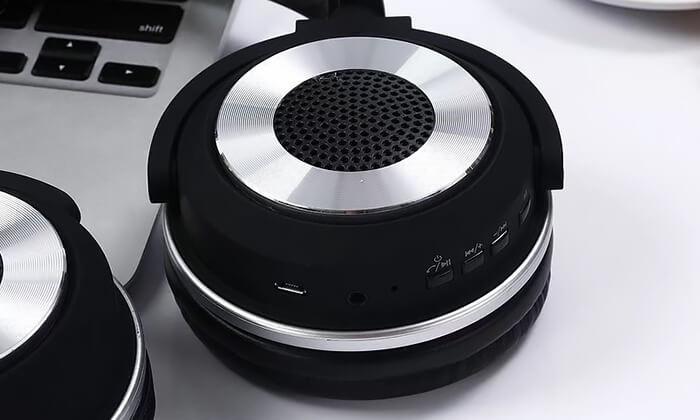4 אוזניות NAVY אלחוטיות עם Bluetooth ורמקולים מובנים