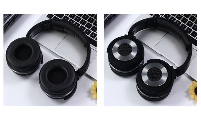 3 אוזניות NAVY אלחוטיות עם Bluetooth ורמקולים מובנים
