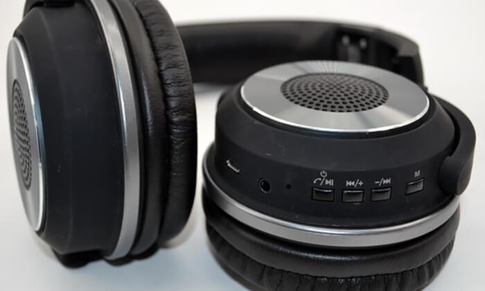 5 אוזניות NAVY אלחוטיות עם Bluetooth ורמקולים מובנים