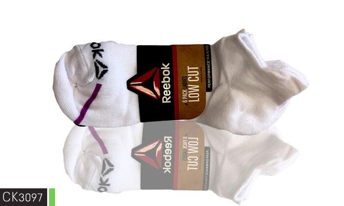 5 18 זוגות גרביים לנשים Reebok