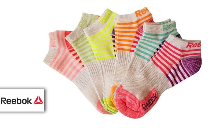 2 18 זוגות גרביים לנשים Reebok
