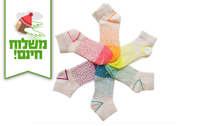 11 18 זוגות גרביים לנשים Reebok - משלוח חינם!