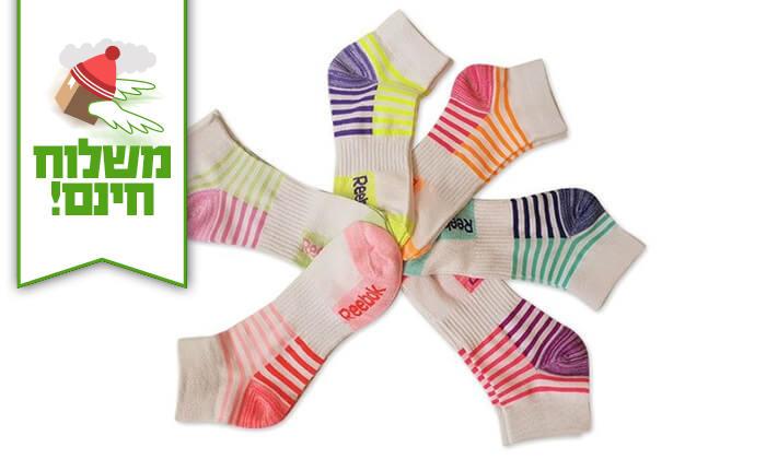 12 18 זוגות גרביים לנשים Reebok - משלוח חינם!