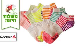 18 זוגות גרביים Reebok לנשים