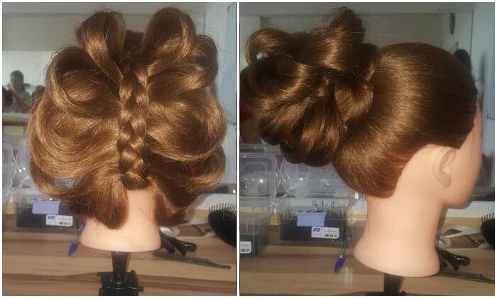 3 סדנה לאיפור ועיצוב שיער בבית הספר למקצועות היופי בבאר שבע