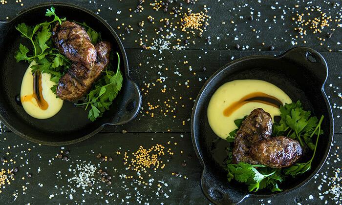3 מסעדת מושבוצ ברמת הגולן - ארוחת בשרים זוגית
