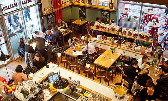 5 ארוחה זוגית במסעדת ג'ויה האיטלקית, סניף סינמטק תל אביב