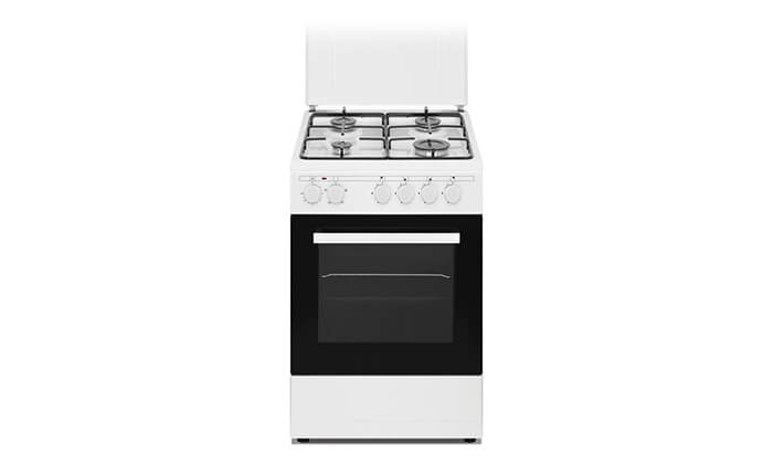 2 תנור אפייה משולב כיריים 48 ליטר, תוצרת LAVALUX