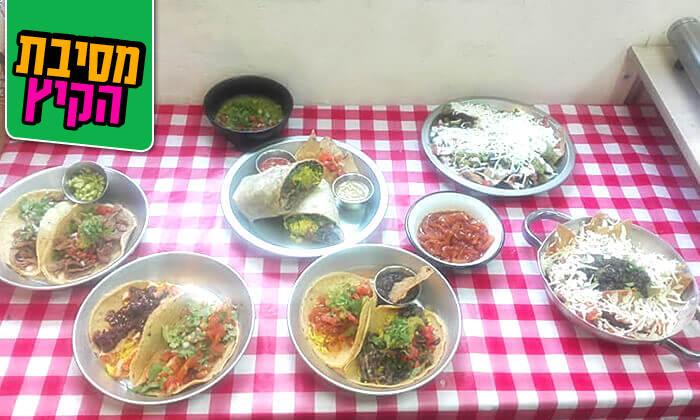 3 ארוחה מקסיקנית זוגית ב'ויוה מקסיקו', שוק הכרמל
