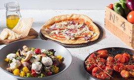 ארוחה איטלקית לזוג בפרש קיטשן