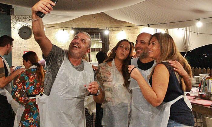14 סדנת בישול איטלקי חלבי במבשלים חוויה - הבית של סדנאות הבישול, תל אביב