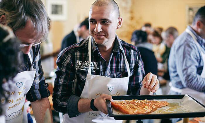 12 סדנת אפייה במבשלים חוויה - הבית של סדנאות הבישול, תל אביב