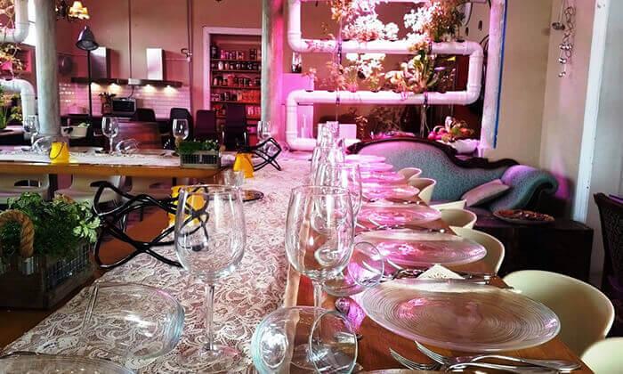 5 סדנת פיוז'ן בשרים במבשלים חוויה - הבית של סדנאות הבישול, תל אביב