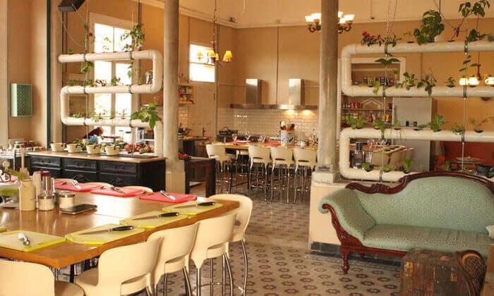 6 סדנת פיוז'ן בשרים במבשלים חוויה - הבית של סדנאות הבישול, תל אביב