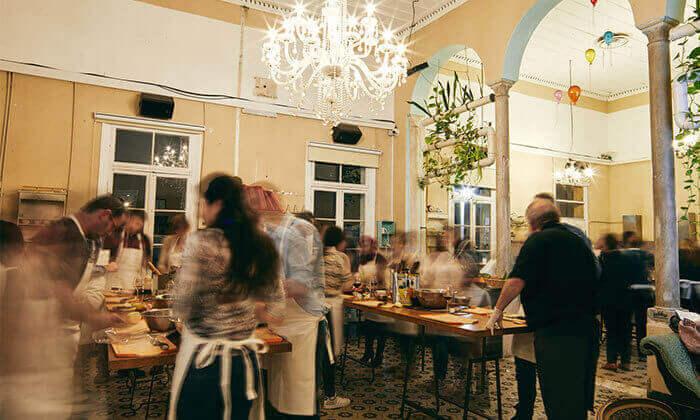 10 סדנת פיוז'ן בשרים במבשלים חוויה - הבית של סדנאות הבישול, תל אביב