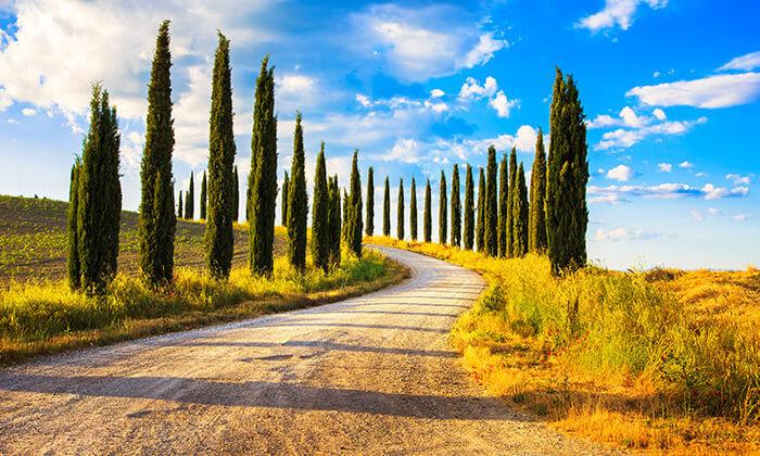 3 חופשה בלב טוסקנה, איטליה, כולל רכב שכור