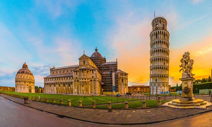 11 חופשה בלב טוסקנה, איטליה, כולל רכב שכור