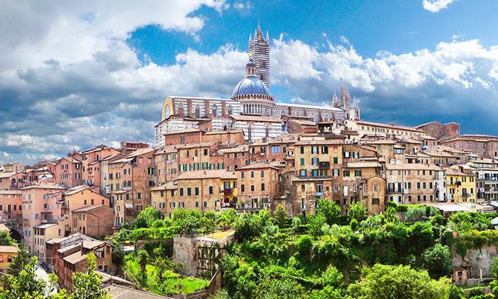 5 חופשה בלב טוסקנה, איטליה, כולל רכב שכור