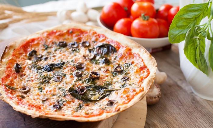 7 פיצה עגבניה כשרה למהדרין בקניון עזריאלי רמלה - מגש XL בהטבת 1+1