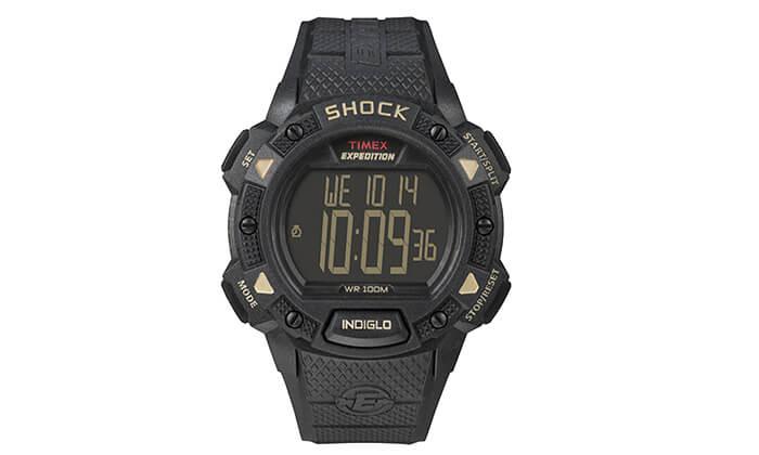 2 שעון יד לגבר TIMEX SHOCK