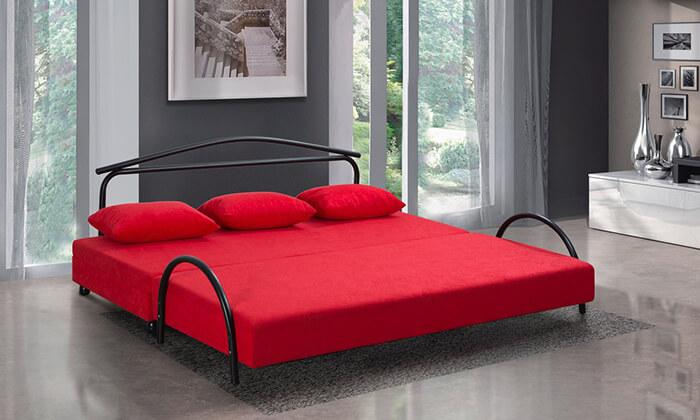 4 מיטת נוער נפתחת עם ארגז מצעים LEONARDO