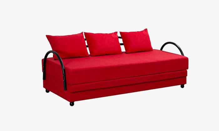 7 מיטת נוער נפתחת עם ארגז מצעים LEONARDO