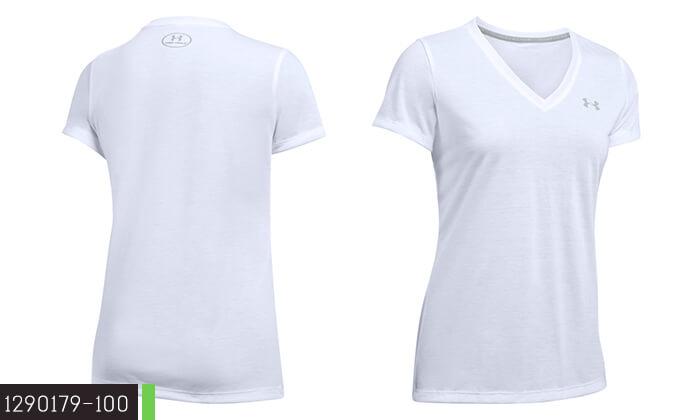 4 חולצת אימון לאשה ולגבר UNDER ARMOUR