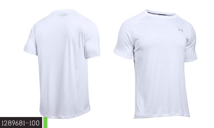 6 חולצת אימון לאשה ולגבר UNDER ARMOUR