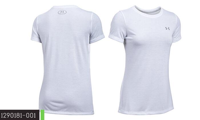 10 חולצת אימון לאשה ולגבר UNDER ARMOUR