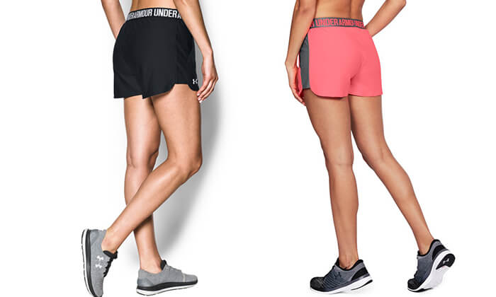 2 מכנסיים קצרים לנשים UNDER ARMOUR