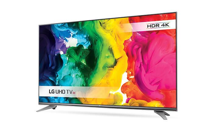 2 טלוויזיה SMART 4K LG, מסך 55 אינץ'