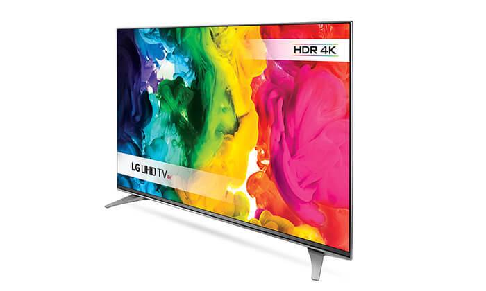 5 טלוויזיה SMART 4K LG, מסך 55 אינץ'