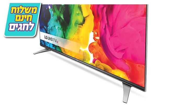 4 טלוויזיה SMART 4K LG, מסך 55 אינץ' - משלוח חינם!