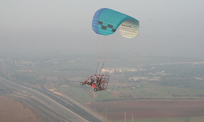 3 טיסה בבקאי - טרקטורון מעופף - עם 'עד השמיים - טיסות חוויה', עין ורד