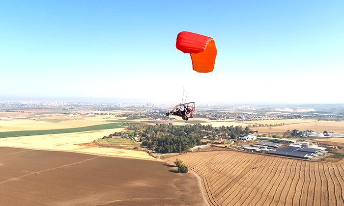 7 טיסה בבקאי - טרקטורון מעופף - עם 'עד השמיים - טיסות חוויה', עין ורד