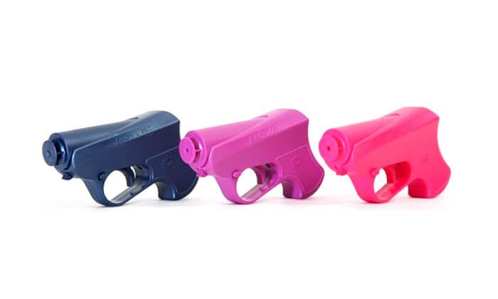 4 אקדח גז מדמיע
