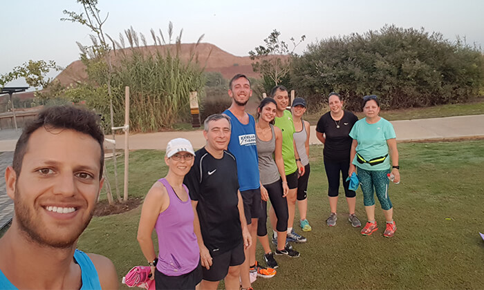 8 אימוני ריצה קבוצתיים עם אור דלח, פארק האגם הוד השרון