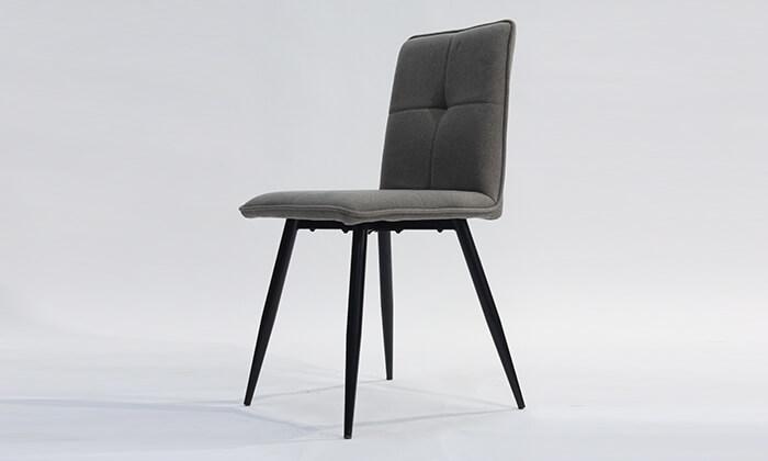 6 כיסא מרופד לפינת אוכל