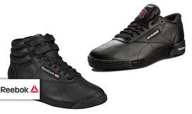 נעלי אופנה לאשה ולגבר REEBOK