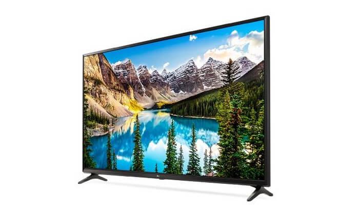 4 טלוויזיה SMART 4K LG, מסך 60 אינץ'