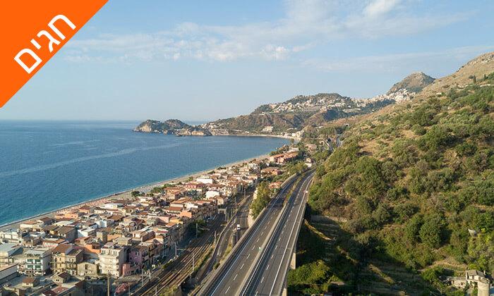 """5 חופשה בסיציליה, כולל סופ""""ש ושבועות"""