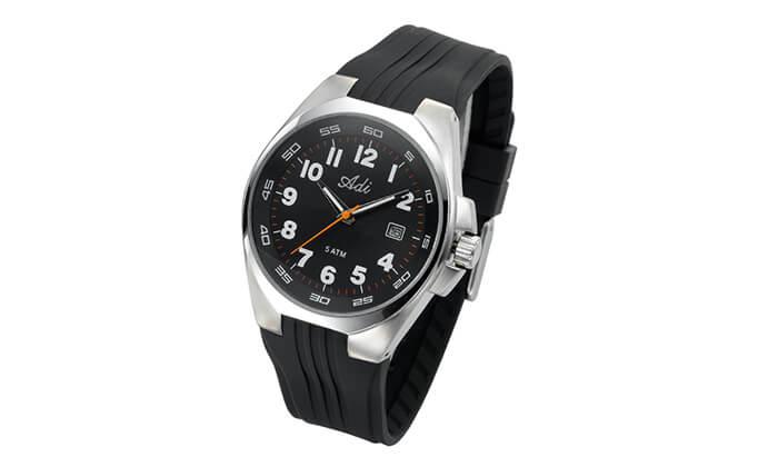 2 שעון יד ספורטיבי לגבר Adi - משלוח חינם!