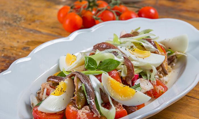 8 ארוחת שף זוגית במסעדת ניצה - NIZZA, לילינבלום תל אביב
