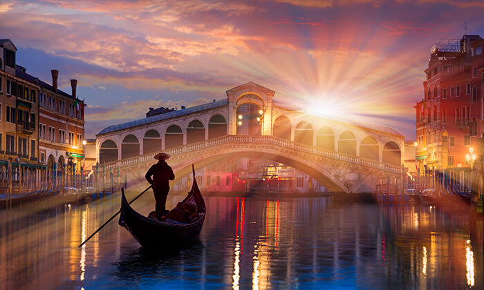 5 חופשה בוונציה, כולל פסטיבל המסכות