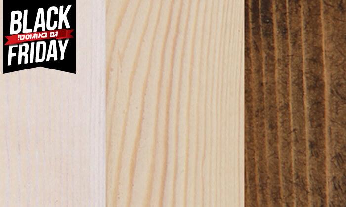3 אולימפיה: מיטה מעץ מלא עם מזרן אורתופדי