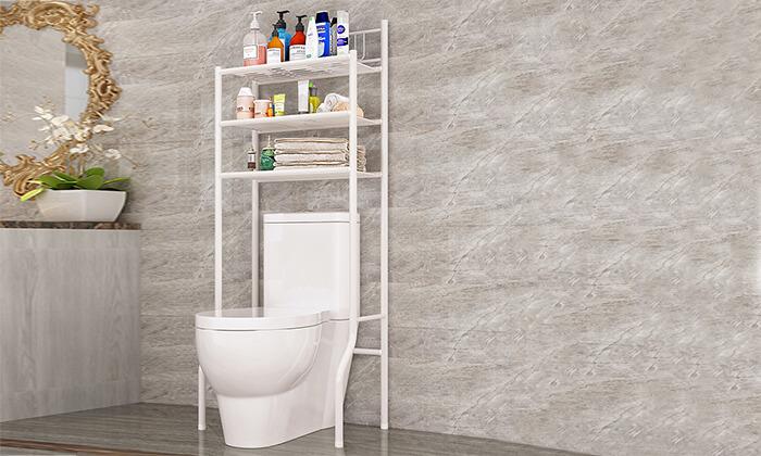 2 יחידת 3 מדפים לחדר האמבטיה