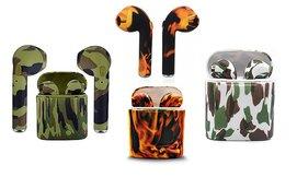 אוזניות Bluetooth בצבעי הסוואה