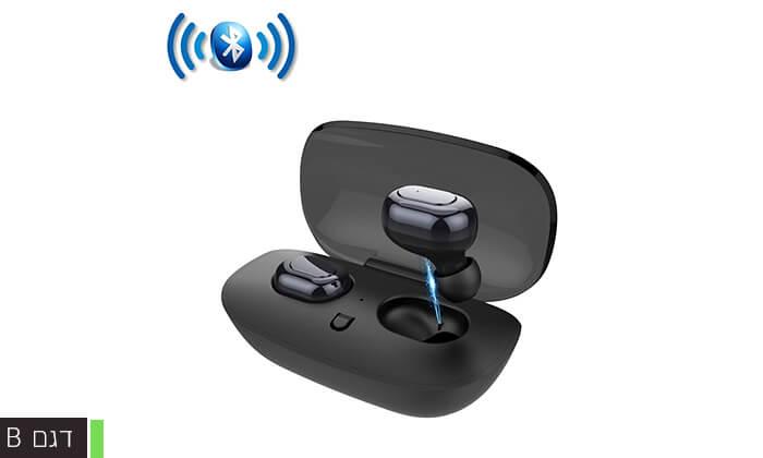 5 אוזניות אלחוטיות BLACK MAMBA